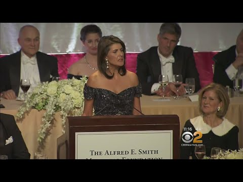 Annual Al Smith Dinner Held In Midtown
