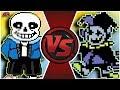 SANS vs JEVIL! (Undertale vs Deltarune Animation) | Cartoon Fight Club Episode 298