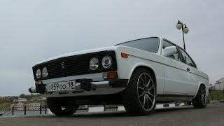 BMW + ВАЗ 2106 с ДВС 1UZ-FE V8 4,0 литра
