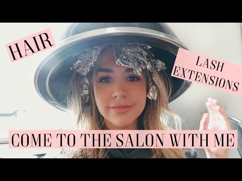COME TO THE HAIR SALON WITH ME | ALEX AND MICHAEL