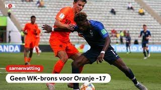 Oranje onder 17 verliest troostfinale van Frankrijk op WK  