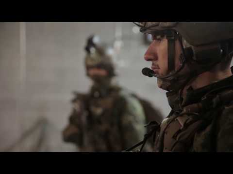2nd Recon Marines Train For Deployment