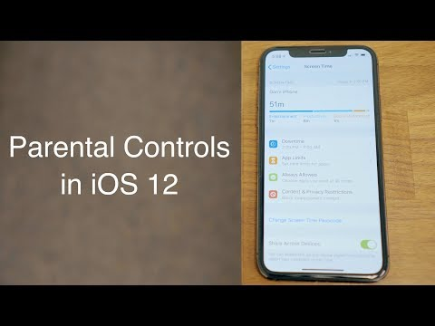 Hands On With Parental Controls in iOS 12