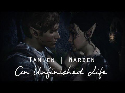 An Unfinished Life |  Tamlen x Warden | Dragon Age: Origins (Dalish Elf) |