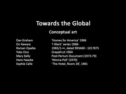 A history of modern art in 73 lectures: lecture 73 (conceptual art plus figurative art)