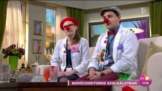 Bohócdoktorok – cél, jó hangulatot vinni a kórtermekbe! - tv2.hu/fem3cafe