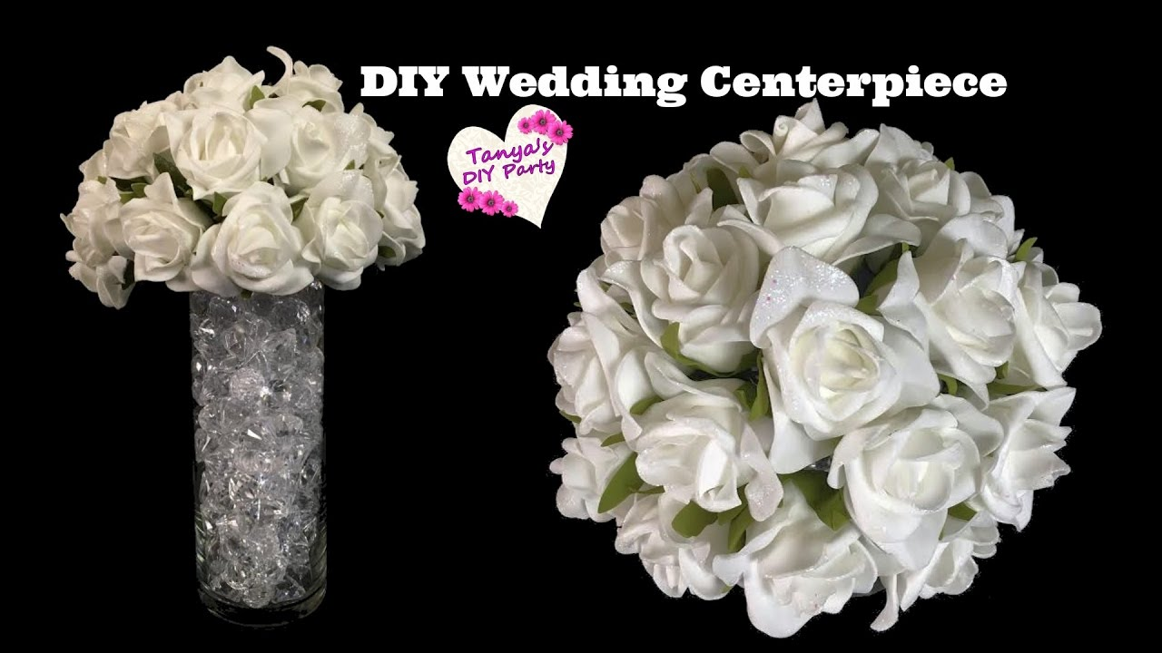 Diy wedding centerpiece wedding decoration idea youtube junglespirit