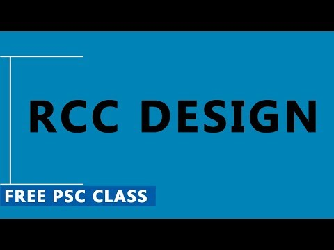 Sample Classes on RCC Design (Modular Ratio) For Civil Engineering Competitive Exams