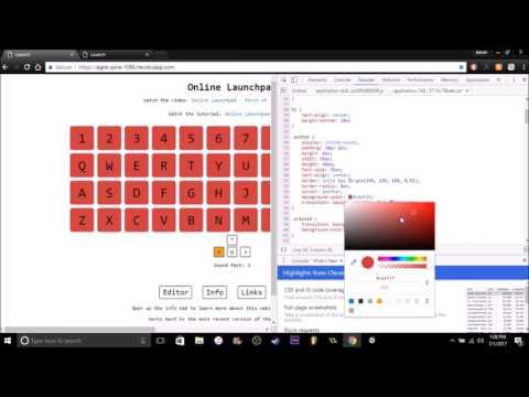 Online Launchpad Customization Tutorial