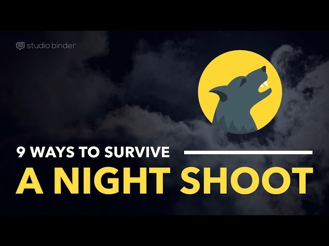 9 Film Techniques For Shooting at Night