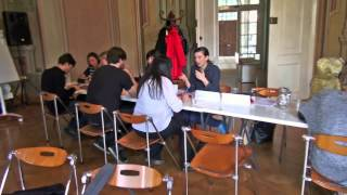 "EuroVision Lab. Pre-Work:  Museum ""speed dating"""