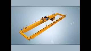 устройство двухбалочного мостового крана