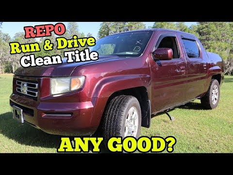 I Bought a Cheap Repossessed Honda Truck from Copart Salvage Auction! How bad could it be? thumbnail