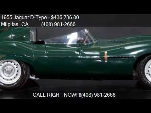 1955 Jaguar D-Type  for sale in Milpitas, CA 95035 at NBS Au