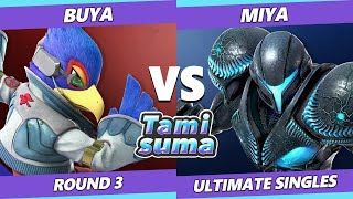 TAMISUMA 178 SSBU - Buya (Falco) Vs. Miya (Dark Samus) Smash Ultimate Round 3
