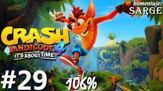 Zagrajmy w Crash Bandicoot 4: Najwyższy Czas (106%) odc. 29 - Awaryjne lądowanie