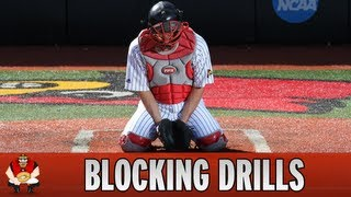 Catching 101 - Baseball Catcher Blocking Drills