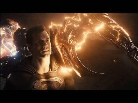 Black Superman Vs Steppenwolf Final Battle | Snyder Cut Justice League