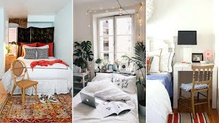 10 How to Optimize a Small Bedroom Apartment