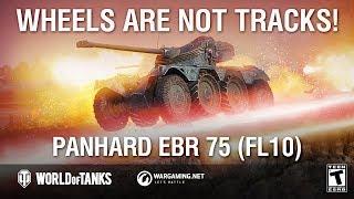 Guide Park: Panhard EBR 75 (FL10). Wheels are not Tracks!