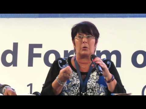 3rd World Forum of LED - Rosa Pavanelli (PSI) on SSTC, C2C, LED and Decent Work