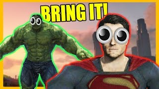 Superman is Overpowered (GTA 5 Mods)