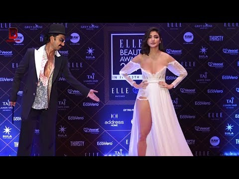 "Ranveer Singh, Anushka Sharma Arrives At ""ELLE BEAUTY AWARDS 2019"""