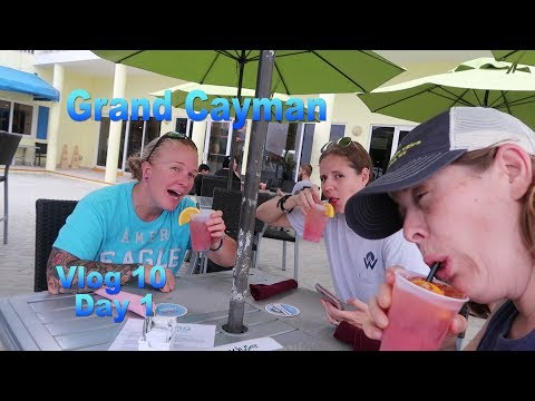 Hurricane Irma Didn't Stop Grand Cayman Trip | Lesbian Vlog 10 Day 1