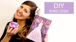 DIY: How to Make a Clay Ring Dish Inspired by The Crown(Store your jewelry in the perfect place by creating your own clay ring dish inspired by THE CROWN, the last book in Kiera Cass's #1 New York Times bestselling ..., 2016-04-28T16:00:01.000Z)