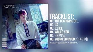 [Full Album] 박지훈(PARK JIHOON) - O'CLOCK