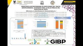 Resistencia Antimicrobiana en ITU: Un desafío para la Salud Pública del Municipio de Paipa. - GIBP