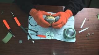 Ремонт и поверка газового счетчика(Показан процесс ремонта, поверки и опрессовки счетчика газа ООО