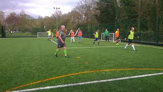 ENGLAND OVER 60'S  WALKING FOOTBALL  4th AND FINAL TEAM TRIAL AT SOLIHULL  22 4 18