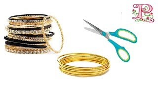 Best craft ideas    Old bangles reuse ideas    Best out of waste    Poppyalley