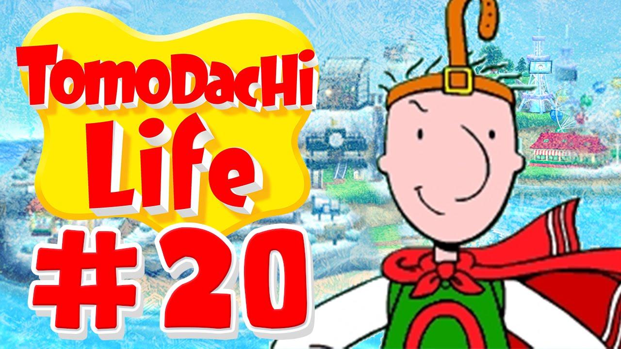 Tomodachi Life - Canvas Of Quailman! - Part 20 - YouTube Quailman