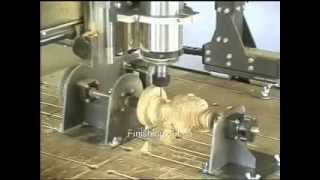 Craftsman 900ST CNC Router carving a statue of Venus's head thumbnail