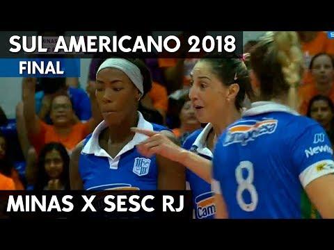MINAS X SESC RJ | FINAL SUL-AMERICANOS DE CLUBES 2018 HD