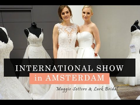 VLOG 3 | International Show Maggie Sottero & Lark Bridal in Amsterdam