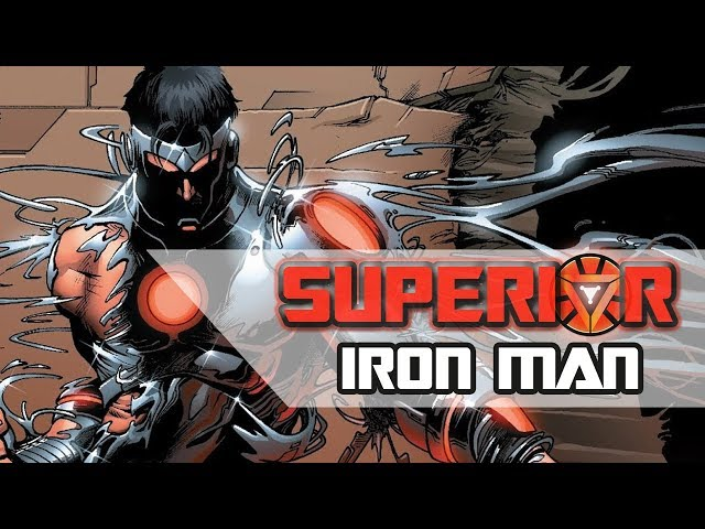 SUPERIOR IRON MAN : l'ARMURE SYMBIOTE ULTIME !