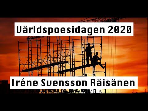 Världspoesidagen poeten Iréne Svensson Räisänens inställda läsning hos Föreningen Arbetarskrivare