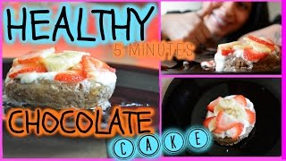 Postre de Chocolate SALUDABLE / Healthy chocolate oatcake Thumbnail