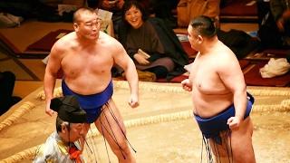 2017.02.05日本大相撲トーナメント第四十一回大会④若の里(西岩親方)VS高...