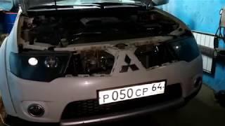 Установка пневмосигнала на Mitsubishi Pajero Sport