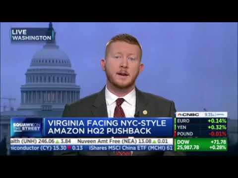 """Virginia Lawmaker Says Local Communities """"Are Not Going To Get Any Benefit From This Amazon Deal."""""""
