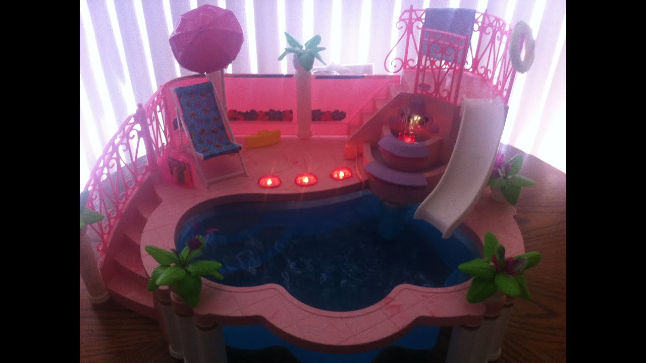1993 Barbie Fountain Pool Youtube