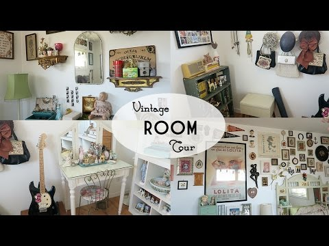 Vintage Room Tour | Emily Vallely