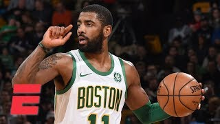 Kyrie Irving drops 22 points on top of Al Horford's 19 points and 1...