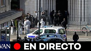 DIRECTO: Homenaje frente a la iglesia de Notre Dame en Niza