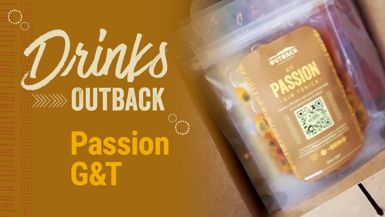 Drinks Outback | Passion G&T