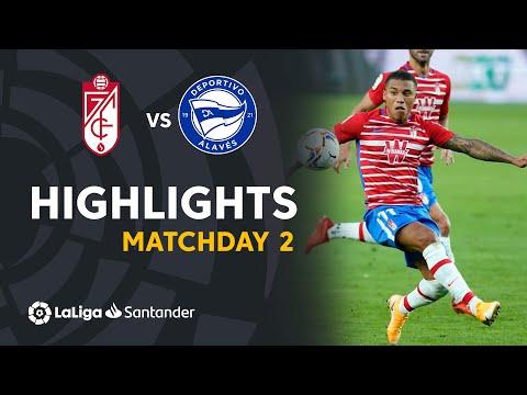 Granada Alaves Goals And Highlights